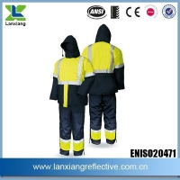 Health And Safety Compliant Work Jackets Winter Men Jackets Bear Deep Freezing Temperature