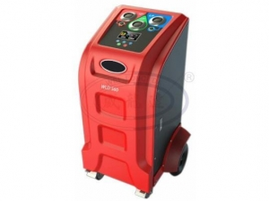 China Fully Automatic AC Car R134a Portable Refrigerant Recovery Recharging Machine on sale