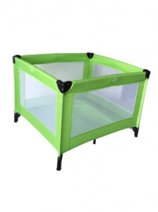 China Simple Square Playpen for Babies with Four Feet with Four Side Mesh on sale