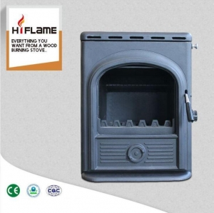 China HiFlame Cast Iron Home Heating Wood Burning Fireplace Insert with Water Jacket AL357iB on sale