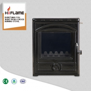 China HiFlame Cast Iron Water Jacket Wood Burning Fireplace Insert with Steel Body HF357iB on sale
