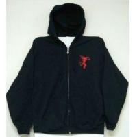 Fireball Zip Up Hoodie Jacket
