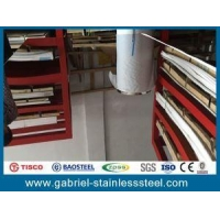 China 309/310/321/904l 20 Gauge Bright Annealed Stainless Steel Sheet Metal Size on sale