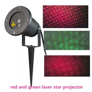 China red and green laser star projector on sale