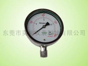 China 100MM capsule pressure gauge on sale