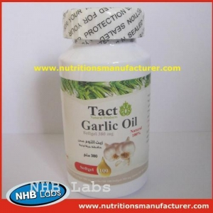 China Garlic Oil Soft Capsule Oem Private Label on sale