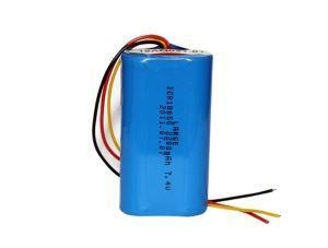 China 7.4V 2200mAh Rechargeable Lithium Battery Packs on sale