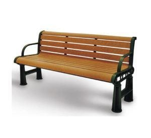 China Arlau FW04 Antique Wooden Bench, Customized Wooden Bench, Wood And Metal Park Bench on sale