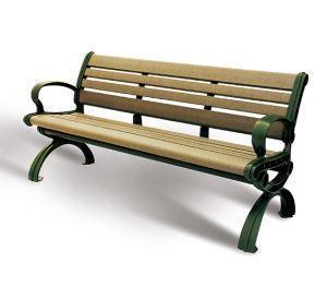 China Arlau FW01 Garden Wood Bench, Park Bench, Wood Bench Garden on sale