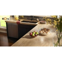 Price Artificial Marble Solid Surface Kitchen Countertops Material Option