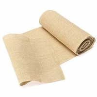 Natural Burlap Table Runners Hessian Table Cloth for Wedding Party Dcor Natural Rustic