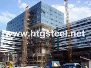 China High Quality Tubular Steel Products for Steel Structure Thermal Power Plant to Germany on sale