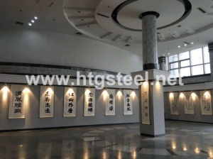 China Sizing/welded Steel Columns to European Standard for Exhibition Building on sale