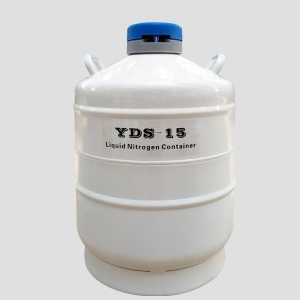 China Liquid Nitrogen Storage Tank 15L Freezing Equipment of Cell and Samples on sale