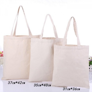 China Cheap Cotton Canvas Bag Personalised Natural Color Tote Bag for Promotional on sale