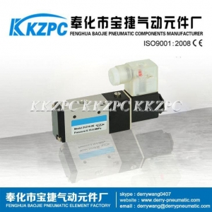 China 3V110-06 3 Way Single Acting Pneumatic Solenoid Control Valve on sale