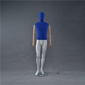 China Wooden Arm Clothing Dummy Body Mannequin on sale