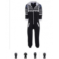 China Jumpsuit Pajama One Piece Jumpsuit Aztec Print Adult Onesie on sale