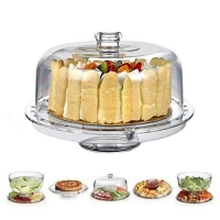 Artland Simplicity Cake Plate with Dome Lid