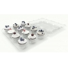 China Cupcake Boxes 12 Pack Carrier Holder Containers Each Holds One Dozen Cup Cakes Party Potluck Baking for sale