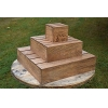 China Wood Cupcake Tower. This stand can hold more than 20 cupcakes.. for sale