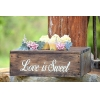 China What is the best Rustic Cupcake Display? Compare features. for sale
