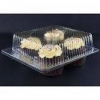 China Clear Jumbo Cupcake Muffin Container Boxes Holds 4 jumbo Cupcake muffins each - 11 boxes for sale