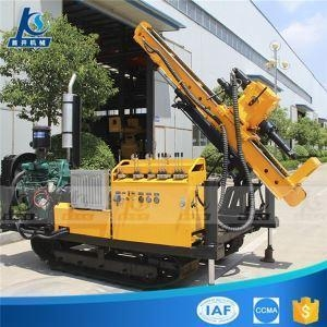 China Diesel Engine Small And Light Model Rubber Crawler Hydraulic Anchoring Drilling Rig on sale