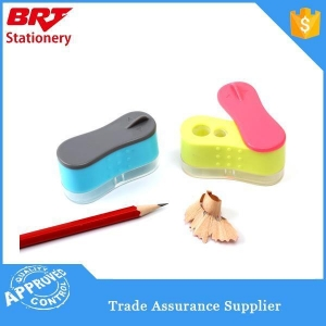 China Transparent Personalized Plastic Pencil Sharpener on sale