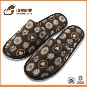 China Slipper Velour Best Selling Close Toe EVA Cheap Hotel Slippers on sale