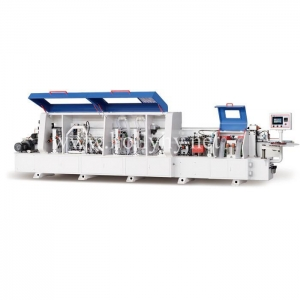 China HY468J Full-Automatic Woodworking MDF PVC Edge Banding Machine for Furniture Factory on sale