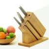 China wooden kitchen knife holder for sale