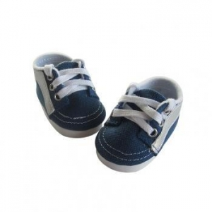 China Doll accessories shoes for 18 inch dolls doll shoes sneakers on sale