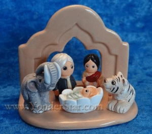 China Nativity Scenes Bengal Nativity Scene Fair Trade Peru on sale