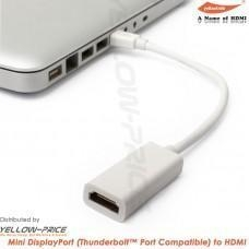 China YellowPrice - Mini DisplayPort MDP Male to HDMI Female Adapter Cable for Micbook Pro iMAC HDTV on sale
