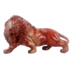 China Red Jasper Lion Sculpture Carving Animal Lion Statue Suppliers China for sale