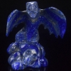 China Wholesale 5 Natural Carved Lapis Lazuli Dragon Carving Craft for sale