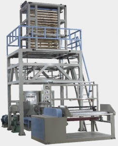 China Blowing Machine-Doube Die Hdpe Ldpe Lldpe Film Blowing Machine on sale