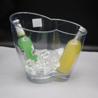 China Ice Bucket Jixi Selled will in EU champagne clear acrylic ice bucket on sale