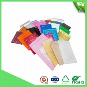 China Color metallic bubble envelopes on sale