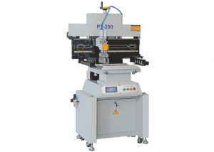 China PT-250 semi-automatic solder paste printer S&M N2/AIR REFLOW on sale