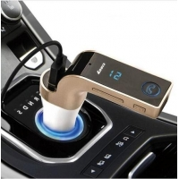 China G7 Bluetooth Car Kit Handsfree FM Transmitter Radio MP3 Player USB Charger & AUX on sale