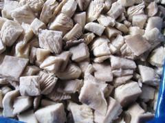 China IQF mushroom dice on sale