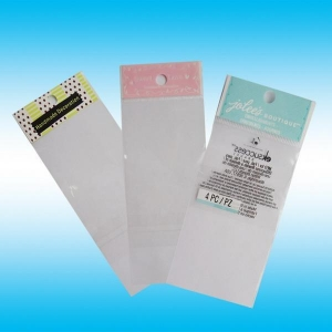 China Supply OPP color printing bags/OPP zipper bags/Hanging card/beautiful customed bags with LOGO on sale
