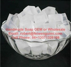 China clear melt and pour glycerin soap base wholesale on sale