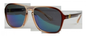 Quality Men's Glasses S1296 Brown Prescription Sunglasses for sale