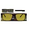 China Men's Glasses TR5133 Demi Amber Cheap Glasses for sale