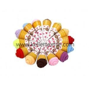 China Bulk Ice Cream Party Favors Towel Cake Sale on sale
