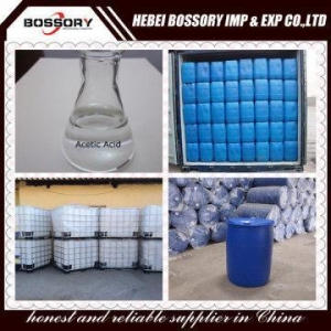China Acetic Acid Glacial 98% for Dyeing on sale