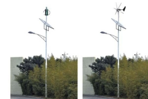 China Wind-Solar-Electricity LED Street Lamp on sale